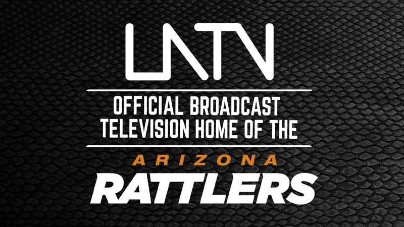 LATV DESIGNATED AS RATTLERS' 2021 TELEVISION HOME IN PARTNERSHIP WITH LOTUS COMMUNICATIONS - Arizona Rattlers